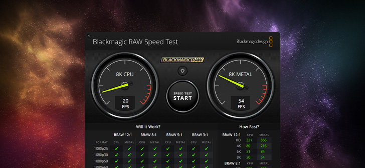 Blackmagic RAW 1.5