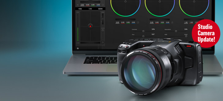 Blackmagic Pocket Cinema Camera Update