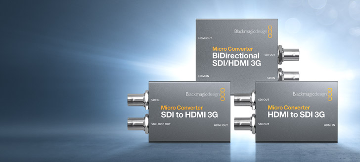 New Blackmagic Micro Converter 3G