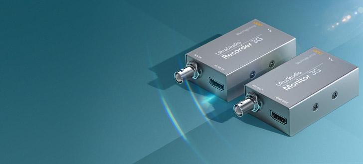 New UltraStudio 3G for Thunderbolt 3
