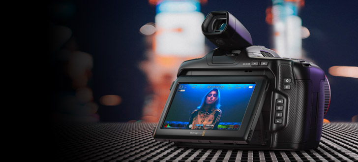 Pocket Cinema Camera 6K Pro!