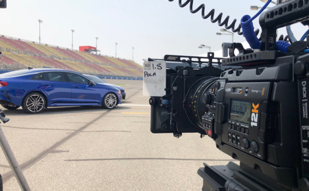 Kia uses URSA Mini Pro 12K for Emmys TVC !