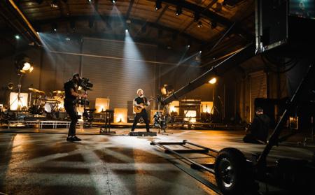 Ed Sheeran's Performance shot with URAS Mini Pro 12K
