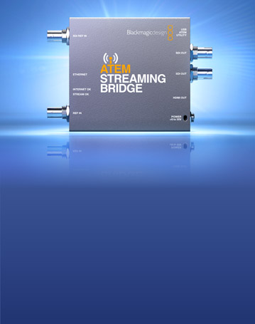 New ATEM Streaming Bridge!