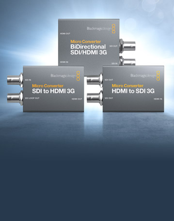 New Blackmagic Micro Converter 3G!