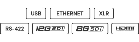 SDI or HDMI Inputs Icons