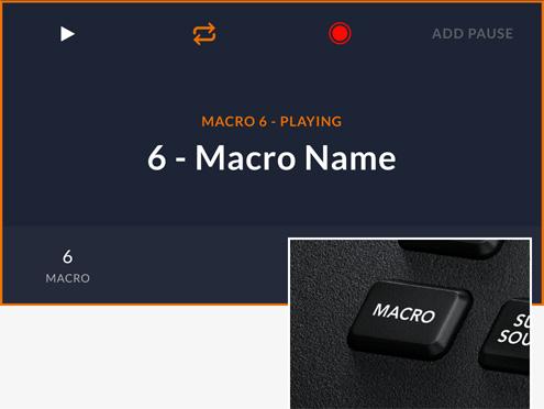 Custom Macros