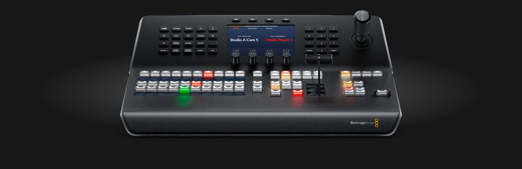 New ATEM 1 M/E Broadcast Studio 4K