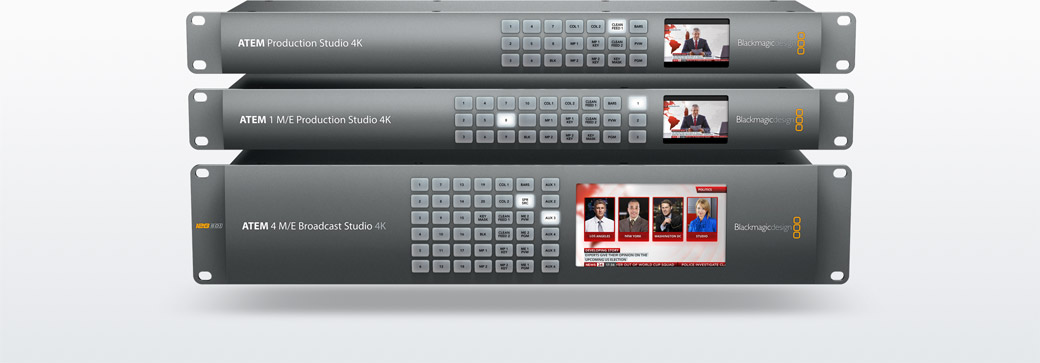 Atem Production Studio 4k Blackmagic Design