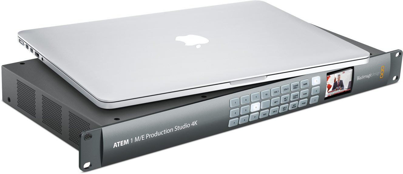 Atem Production Studio 4k Software Blackmagic Design