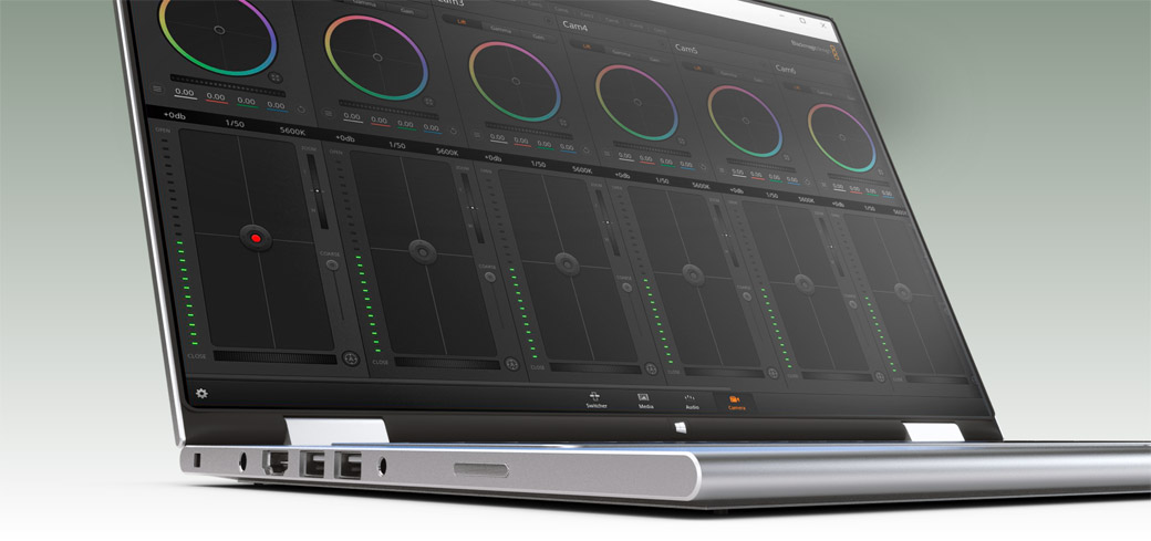 The world's fastest live production switcher control software