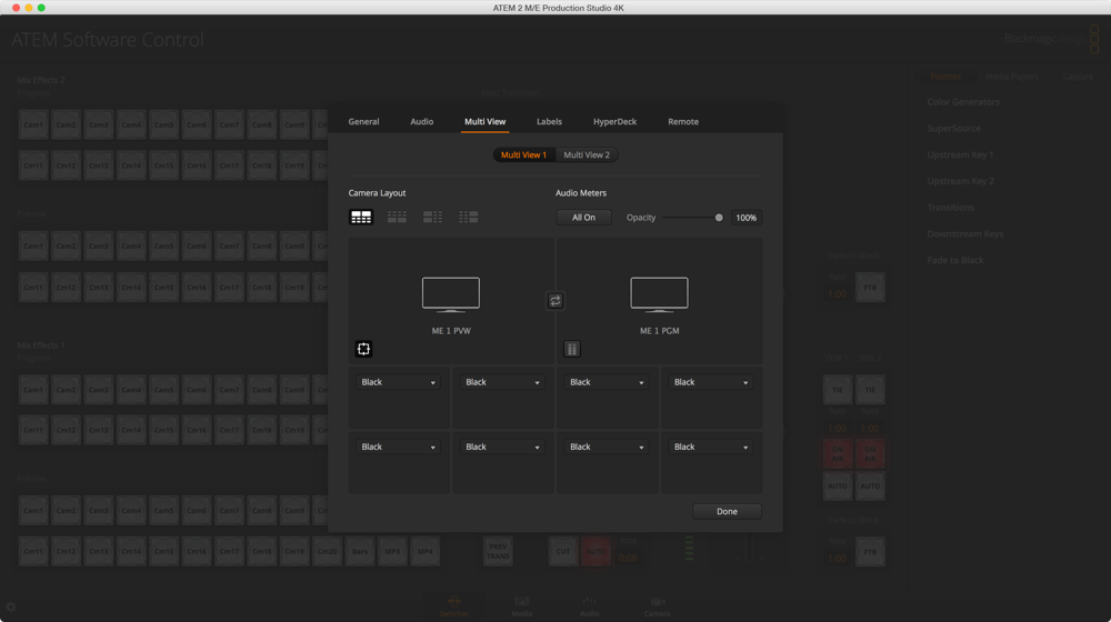 Switcher MultiView