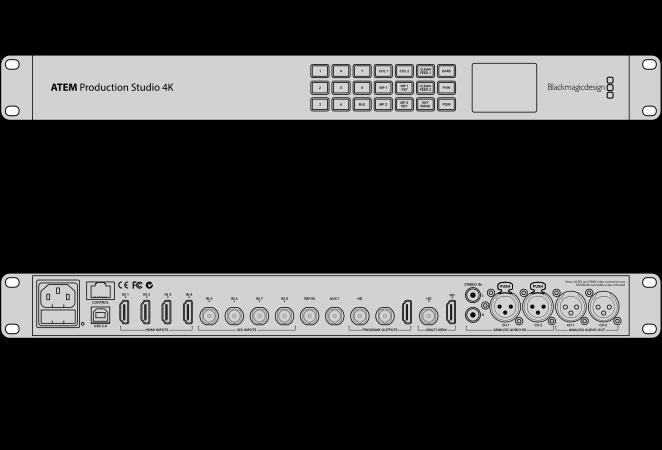 Atem Production Studio 4k Tech Specs Blackmagic Design