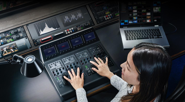 ATEM Camera Control Panel