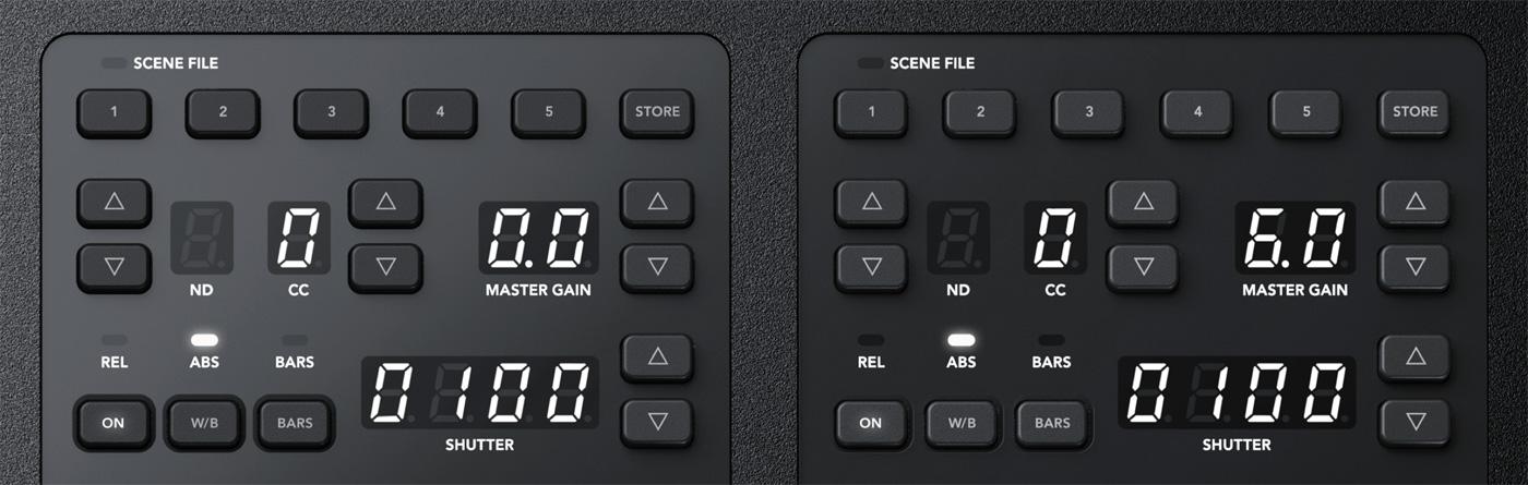 Scenes and Camera Controls