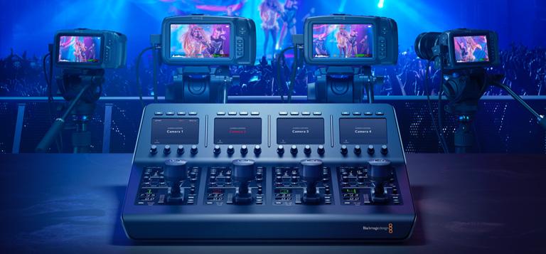 Control Blackmagic Cameras