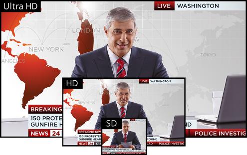 Multiple Television Standards