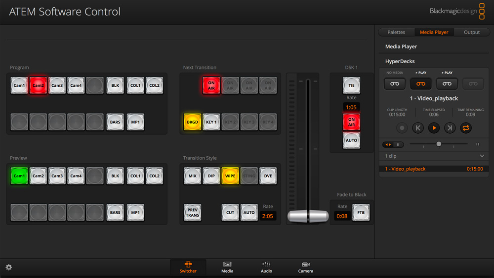 HyperDeck Control