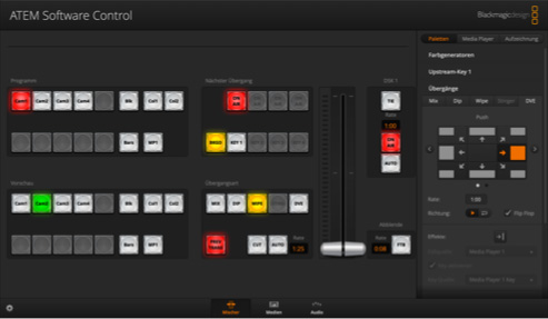 Switcher interface