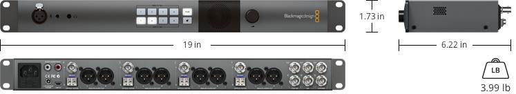 Atem Converters Tech Specs Blackmagic Design