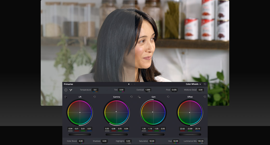 Add DaVinci Color Correction