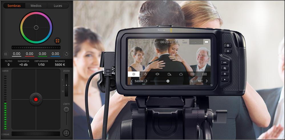 Remote Control Blackmagic Pocket Cinema Cameras