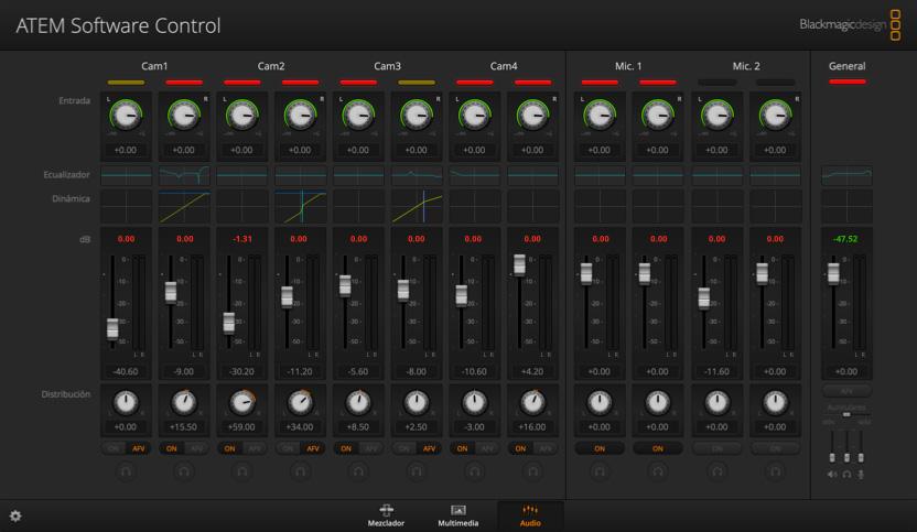 Fairlight Audio Mixer