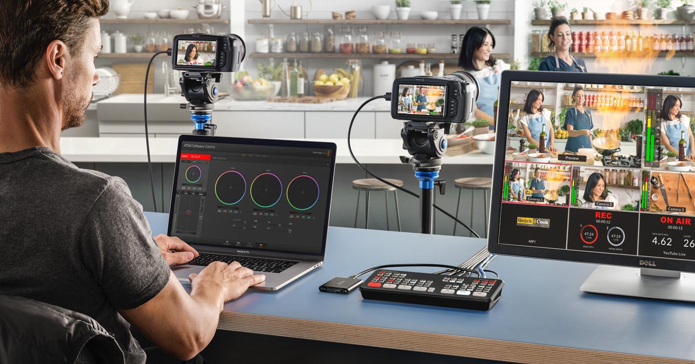 Control and Color Balance Cameras!