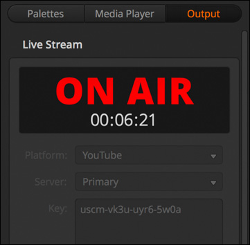 Live Stream via Ethernet on ATEM Mini Pro