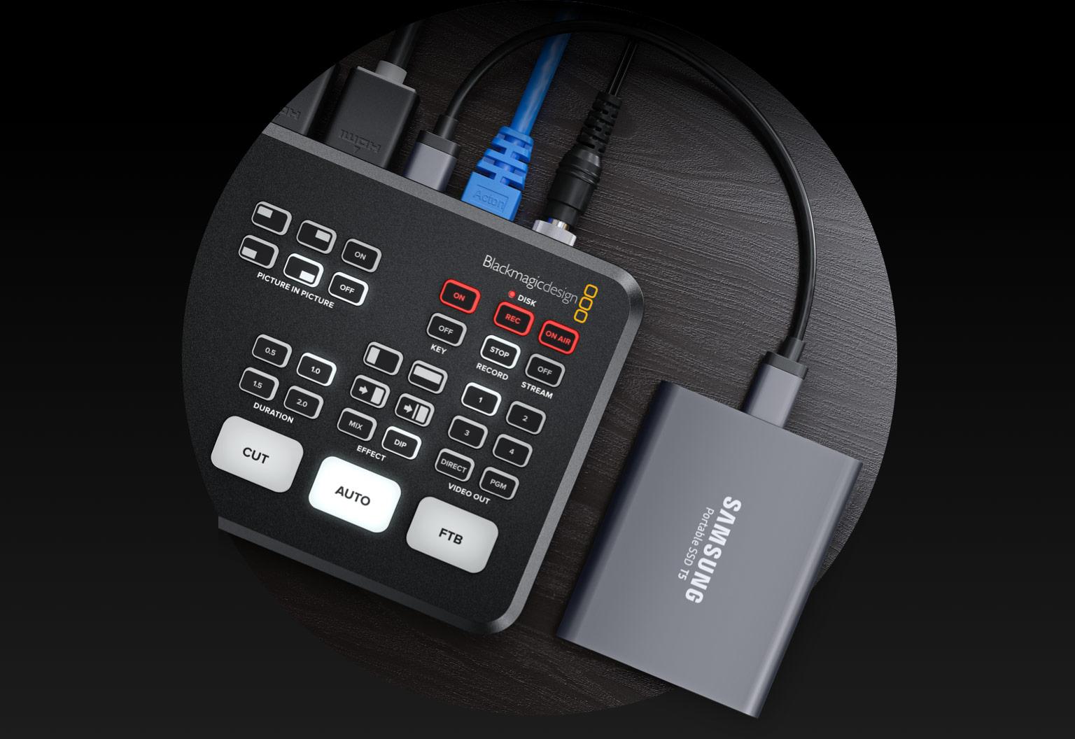 Blackmagic Design ATEM Mini Pro Recording