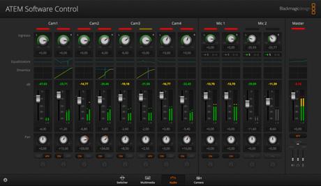 ATEM Software Screen.