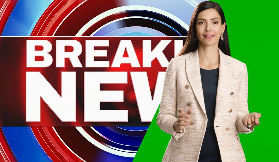 News Broadcast.