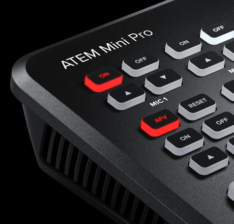 ATEM Mini Pro - Close Up 1
