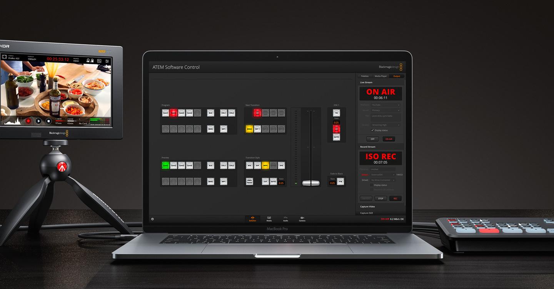 Atem Mini Software Control Blackmagic Design