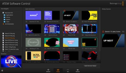 Media interface