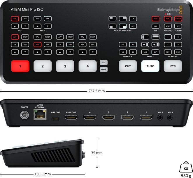 ATEM Mini Pro ISO