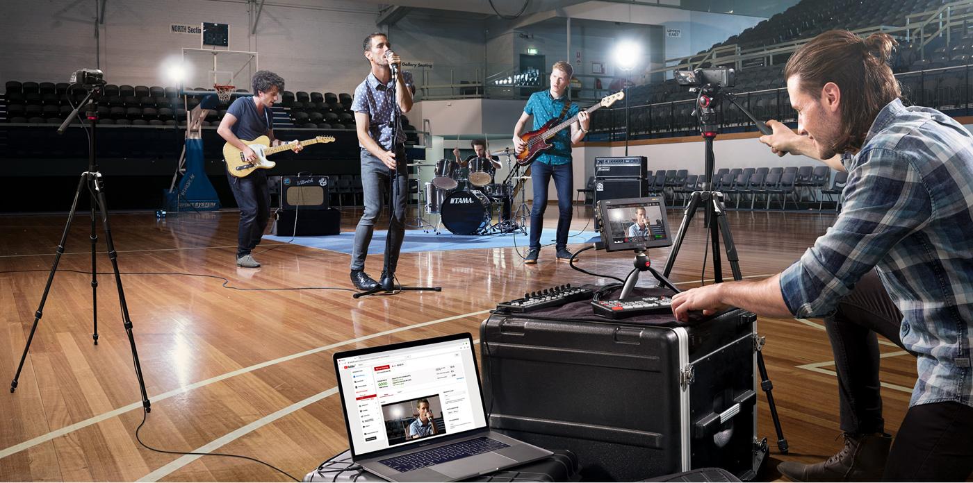 ATEM Mini Workflow - Live Concerts