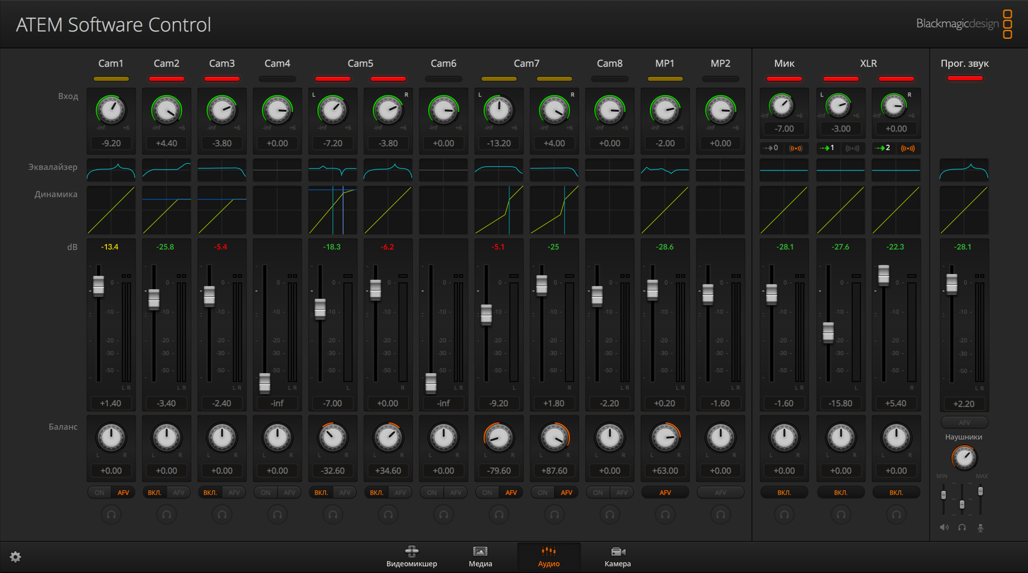 Audio Mixer BG