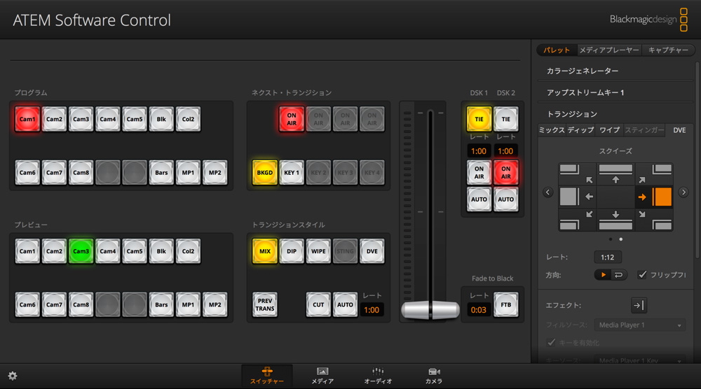 Switcher Page