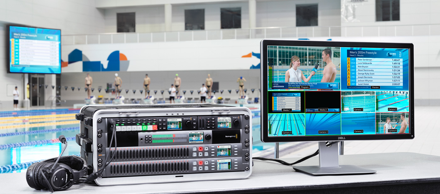 ATEM Television Studio – Workflow | Blackmagic Design