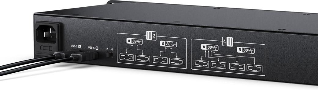 Extreme 10Gb/s USB-C Speed