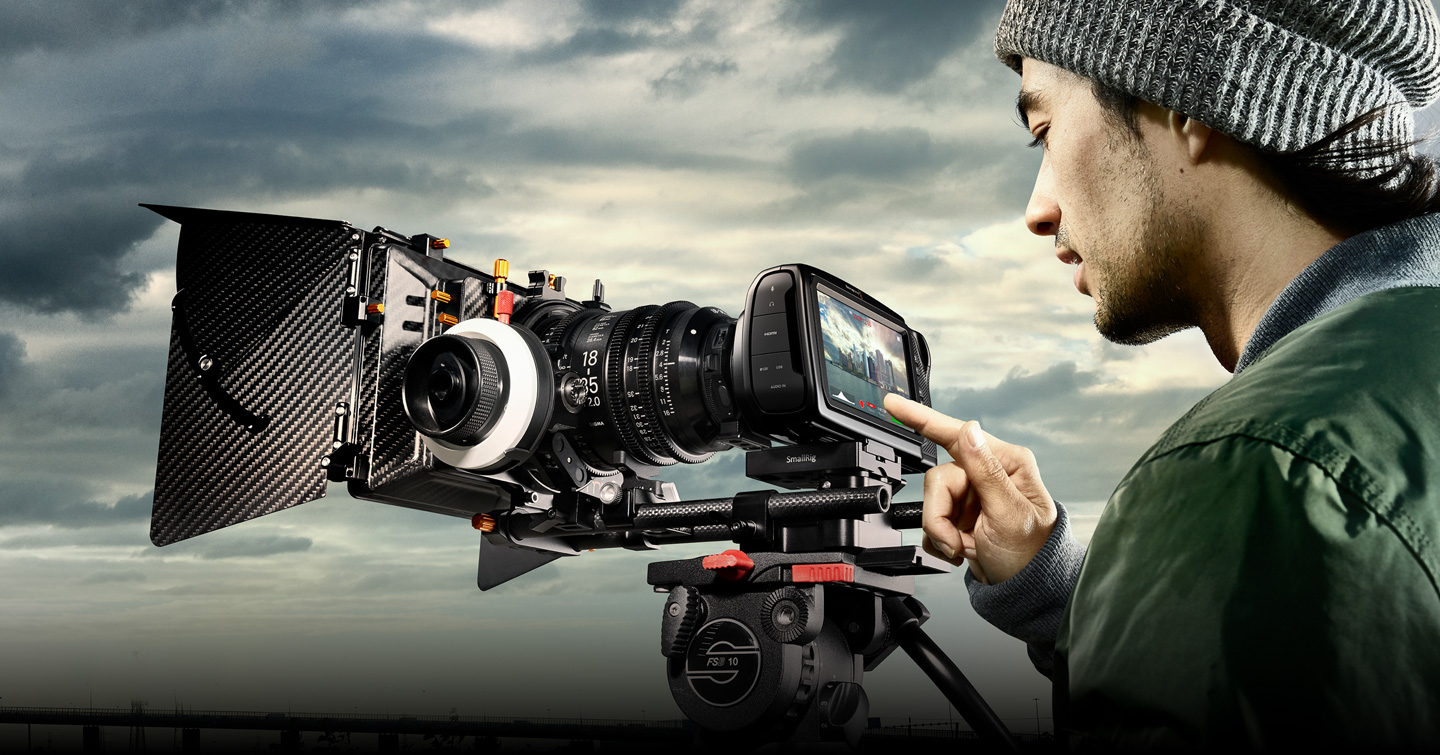 Blackmagic Pocket Cinema Camera Accessories Blackmagic Design