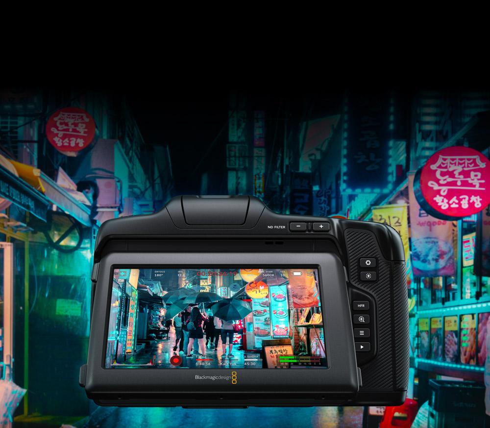 Bright 5 Inch Touchscreen