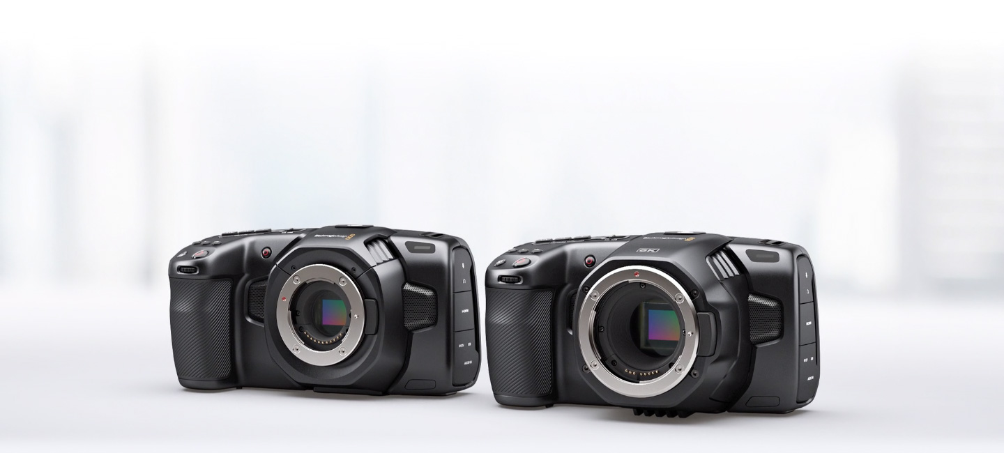 Blackmagic Pocket Cinema Cameras