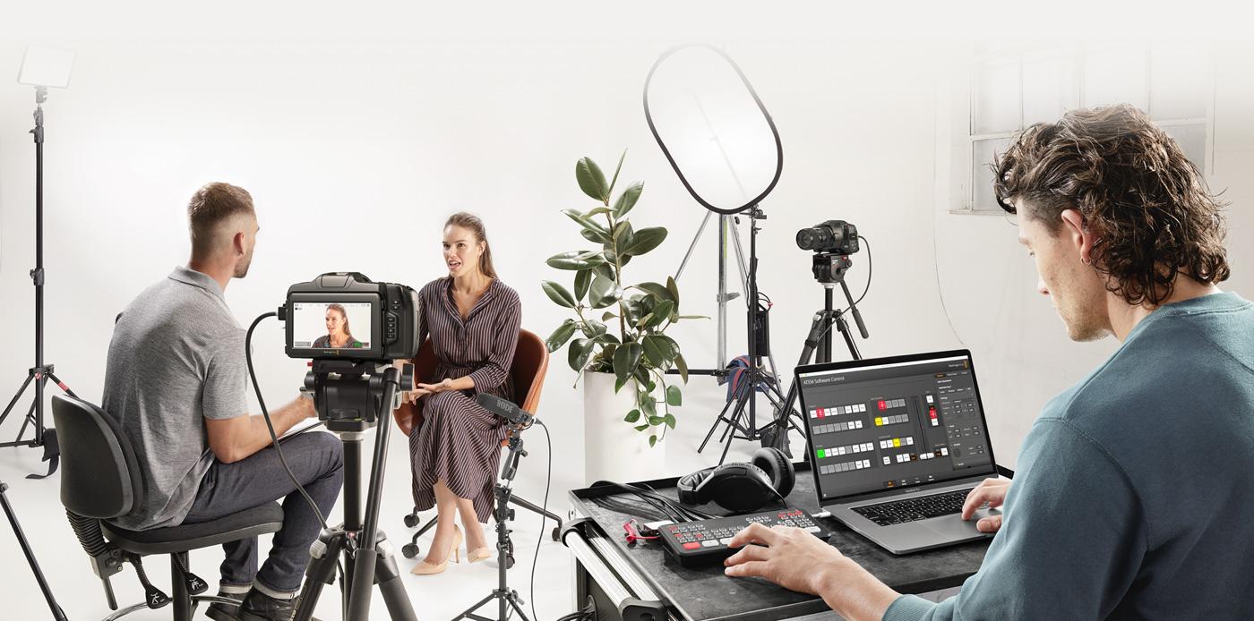 Use Pocket Cinema Camera as a Live Studio Camera!