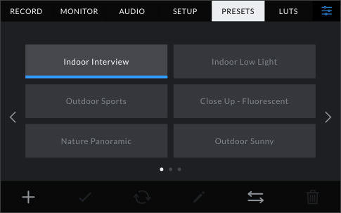 Save, Load and Share User Presets
