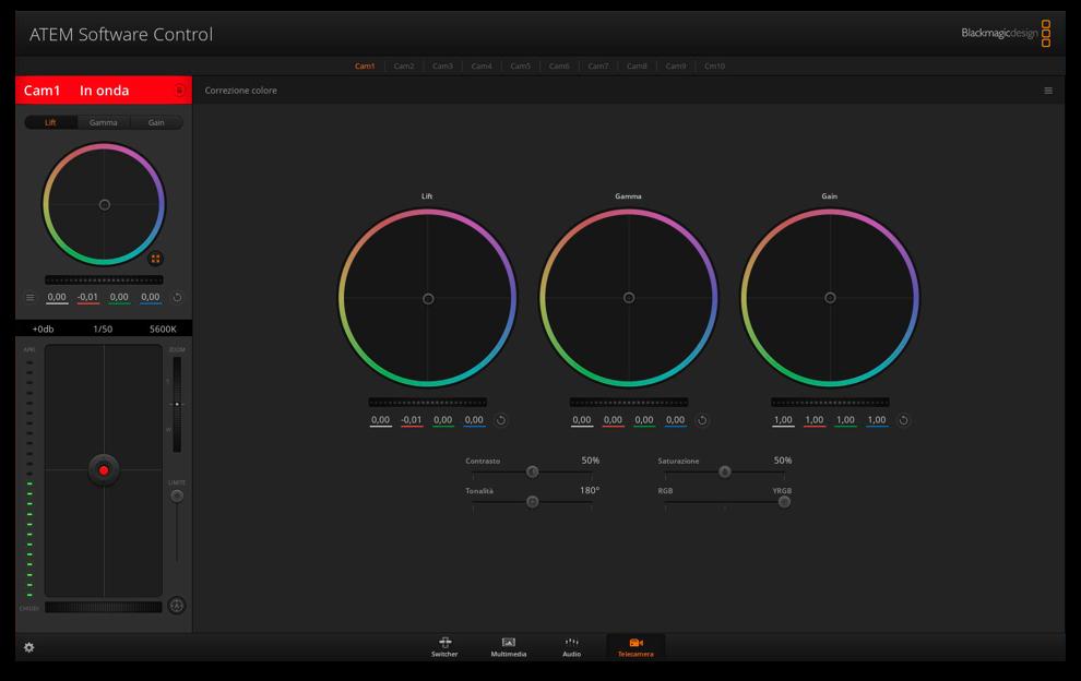 ATEM Software Control Window