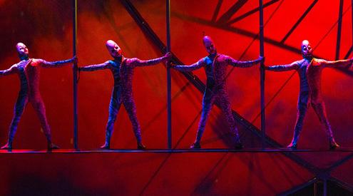 Mystère Cirque du Soleil Behind the Scenes