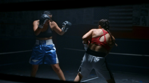The Fighter - Wide Shot