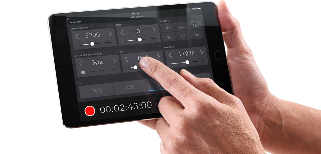 Wireless Bluetooth Camera Control